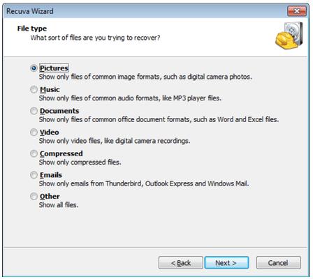 programa recuperar arquivos deletados da lixeira